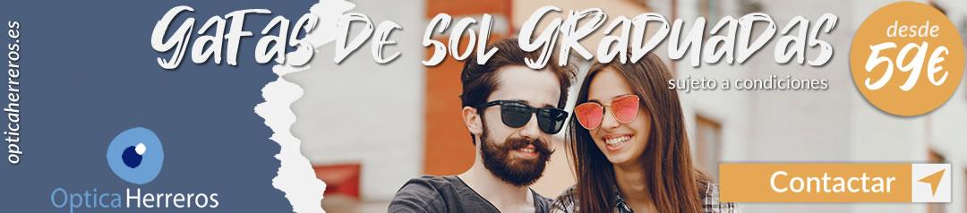 Banner Gafas de sol graduadas